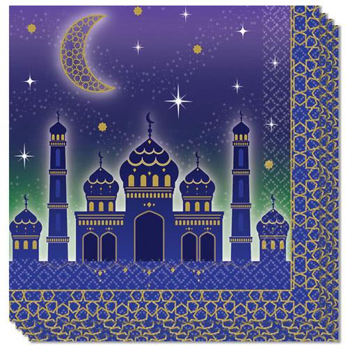 Eid Servilletas De Almuerzo 33Cm 2Ply - Paquete De 16