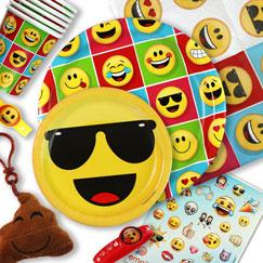 Fuentes de fiesta emoji