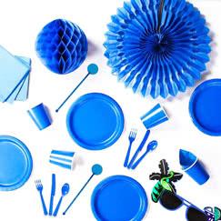 Suministros de Fiesta Azul Real