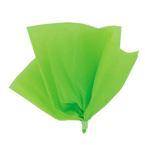 Papel De Regalo De Papel Verde Lima - Paquete De 10