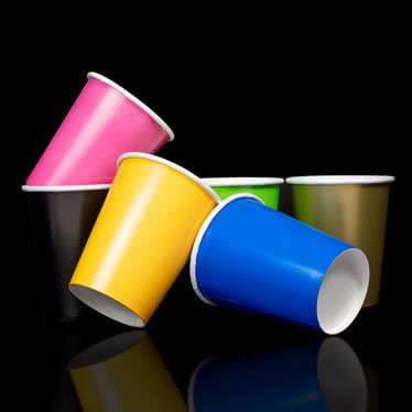 Tazas de color liso