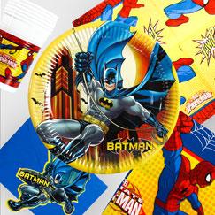 Suministros de fiesta de superhéroe