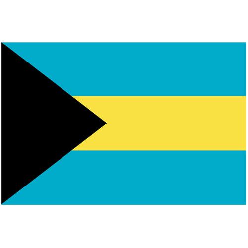 Bandera De Bahamas - 5 X 3 Pies