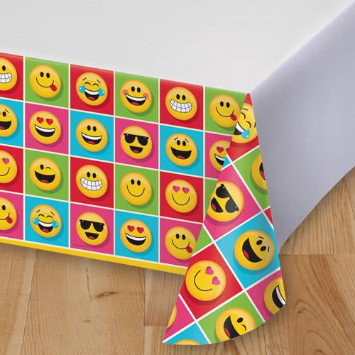 Emoji Diseña Mantel De Plástico De 259 Cm X 137 Cm
