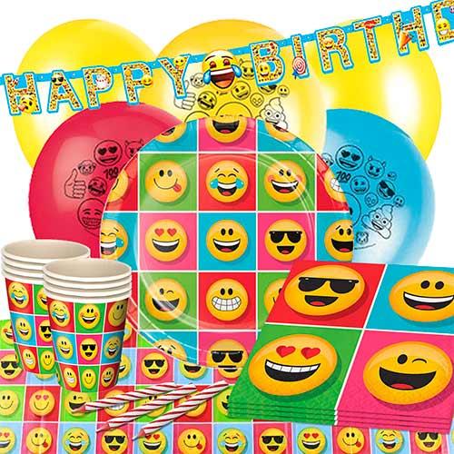 Emoji Paquete De Fiesta De Lujo De 16 Personas