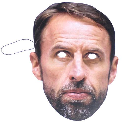 Gareth Cartón Southgate Cara Máscara