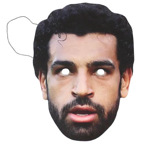 Máscara De Cartón Mo Salah