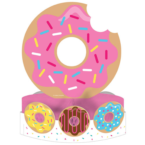 Donut Tiempo Central Mesa Decoración 30Cm
