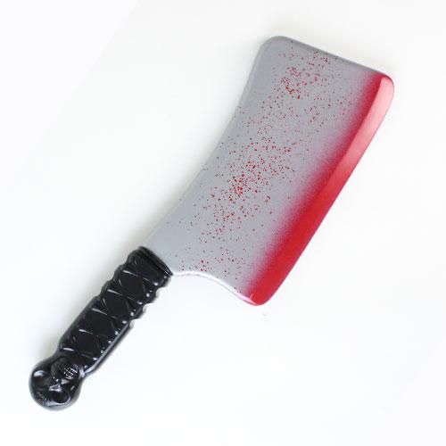 Arma De Cuchilla De Plástico De Sangre De Halloween 35Cm