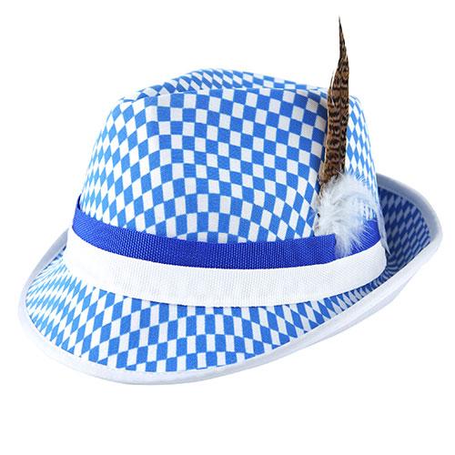 Sombrero De Oktoberfest Con Pluma