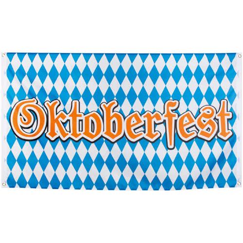 Bandera De Poliéster Oktoberfest 150Cm