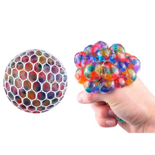 Juguete malla blando del balón squeeze alivio de la tensión con los granos