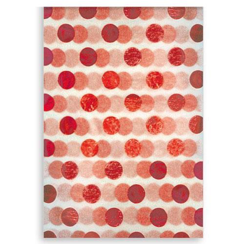 Papel de seda Christmas Foil Dots - Paquete de 3