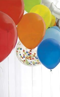 Globos de fiesta y accesorios para globos