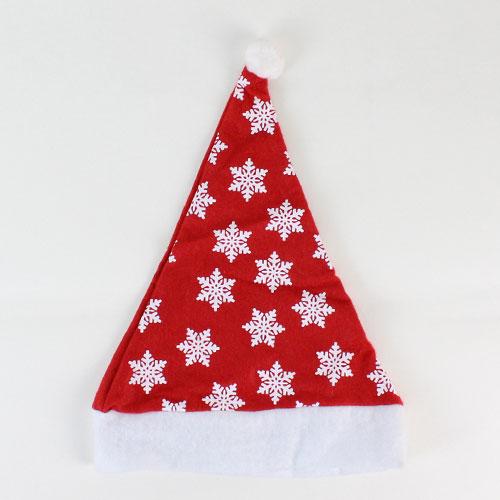 Sombrero de Navidad con copos de nieve Print 40cm
