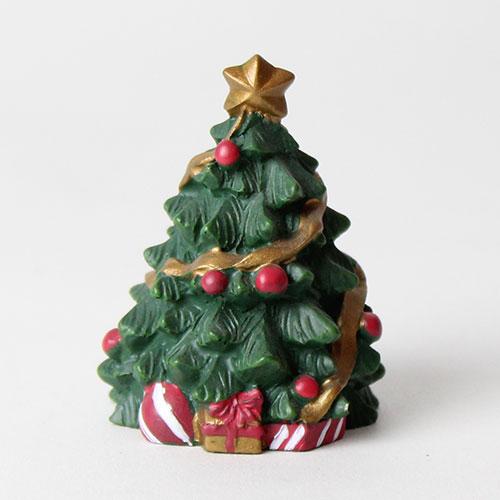 Árbol De Navidad Resina Cake Topper Decoración 5 Cm