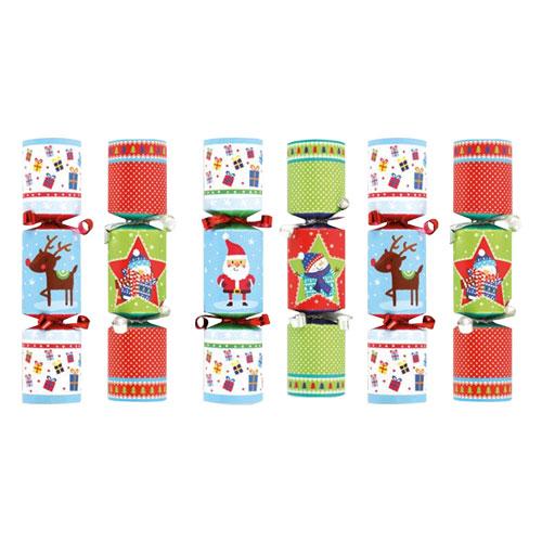 Novedad Mini Galletas de Navidad - Paquete de 6