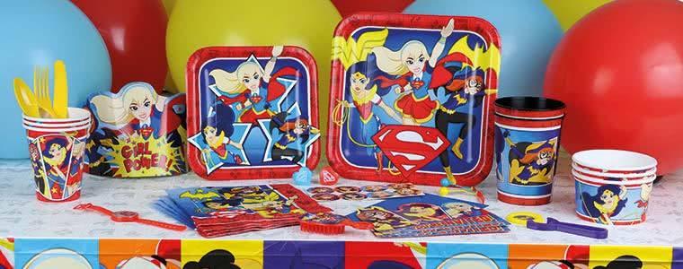 Fiesta de DC Superhéroe Niñas Top Image