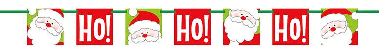 Ho Ho Ho Pancarta De Cartón De Navidad Pancarta 152Cm