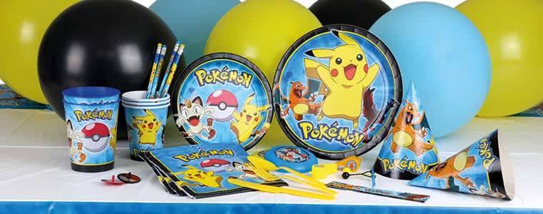 Suministros de fiesta Pokemon Top Image