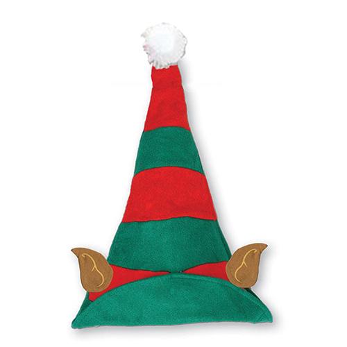 Sombrero de duende de Navidad con orejas 40cm