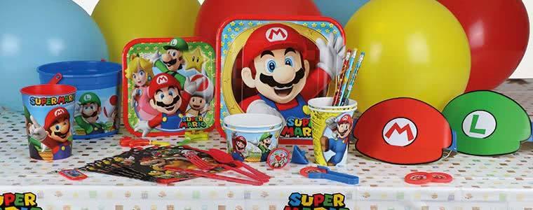 Suministros para fiestas Nintendo Super Mario Top Image