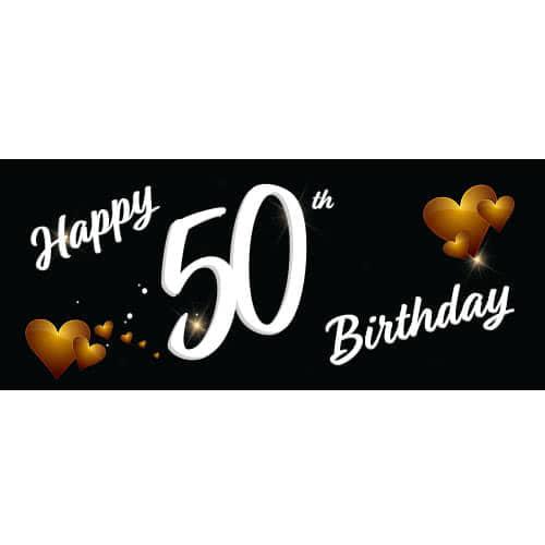 Nuevo partido 50th Cumpleaños Premio Cinta