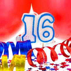 Suministros de fiesta de cumpleaños 16