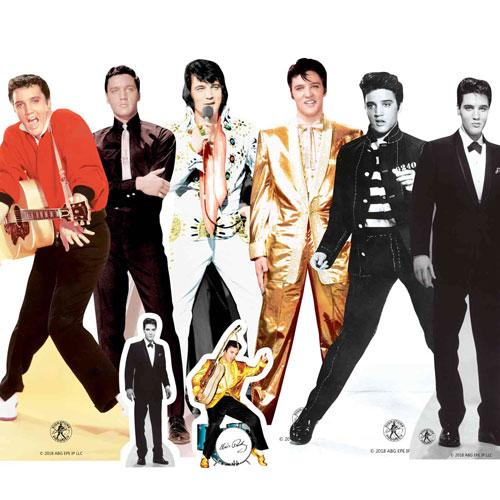 Decoraciones De Mesa De Elvis Presley - Paquete De 8