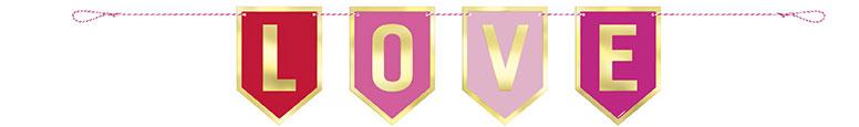 Valentines Folie Liebe Karton Cartulina 91Cm