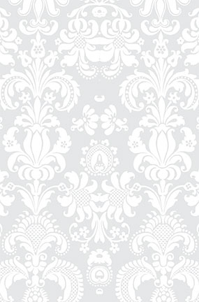 Damasco Blanco Diseño Grande Pvc Pastel Fotografía Telón De Fondo 137Cm X 90Cm