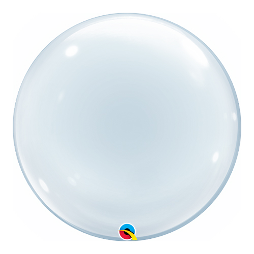 Burbuja Deco Burbuja Helio Qualatex Globo 51 Cm / 20 Pulgadas