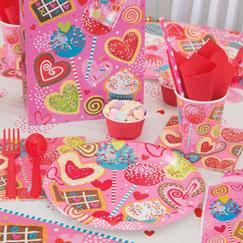 Fiesta de San Valentín Vajilla y Catering