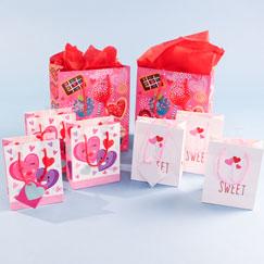 Bolsas De Regalo De San Valentín Y Envoltura