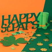 Decoraciones de mesa del día de St Patricks