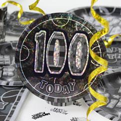100.os accesorios de la fiesta de cumpleaños