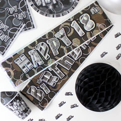 18 Banners de la fiesta de cumpleaños