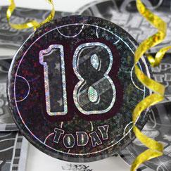 18º accesorios de la fiesta de cumpleaños