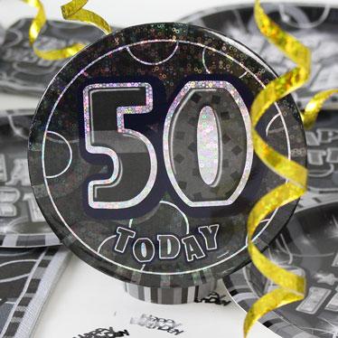 50.o accesorios de la fiesta de cumpleaños