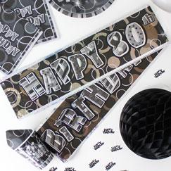 80.o Banners de la fiesta de cumpleaños