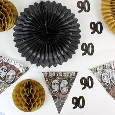 90.a decoraciones de la fiesta de cumpleaños