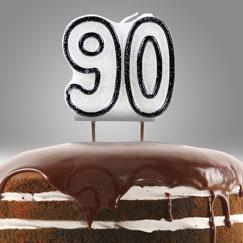 90 años fodselsdag Lys og Stjernekastere