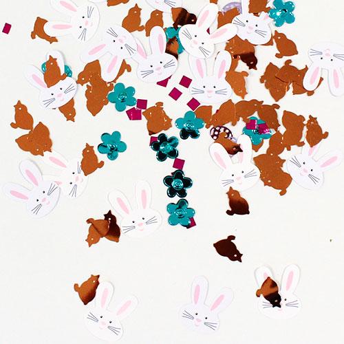 Pascua Confeti de Mesa de Value Pack - 3 Pack - 34 gramos