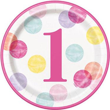 Primero Cumpleaños Niña Partido Suministros