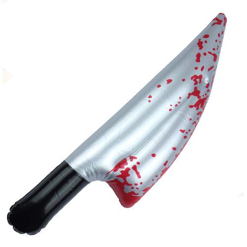 Cuchillo Sangriento Inflable 40Cm
