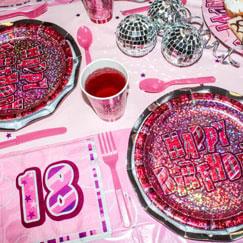 Rosa Glitz 18vo Cumpleaños