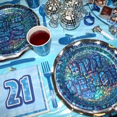 21 cumpleaños de Azul Glitz