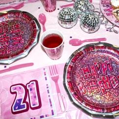 Rosa Glitz 21 Cumpleaños