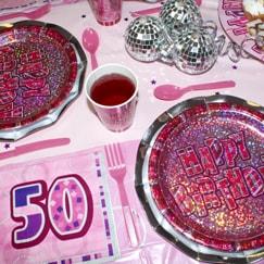 Rosa Glitz 50 Cumpleaños
