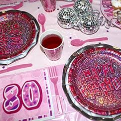Rosa Glitz 80 Cumpleaños